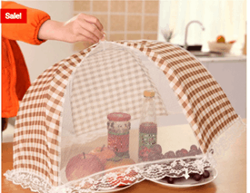 Food Cover Foldable Kitchenware