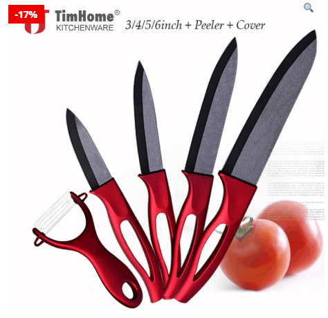 Kitchen Knife Set For Effective Cutting And Working